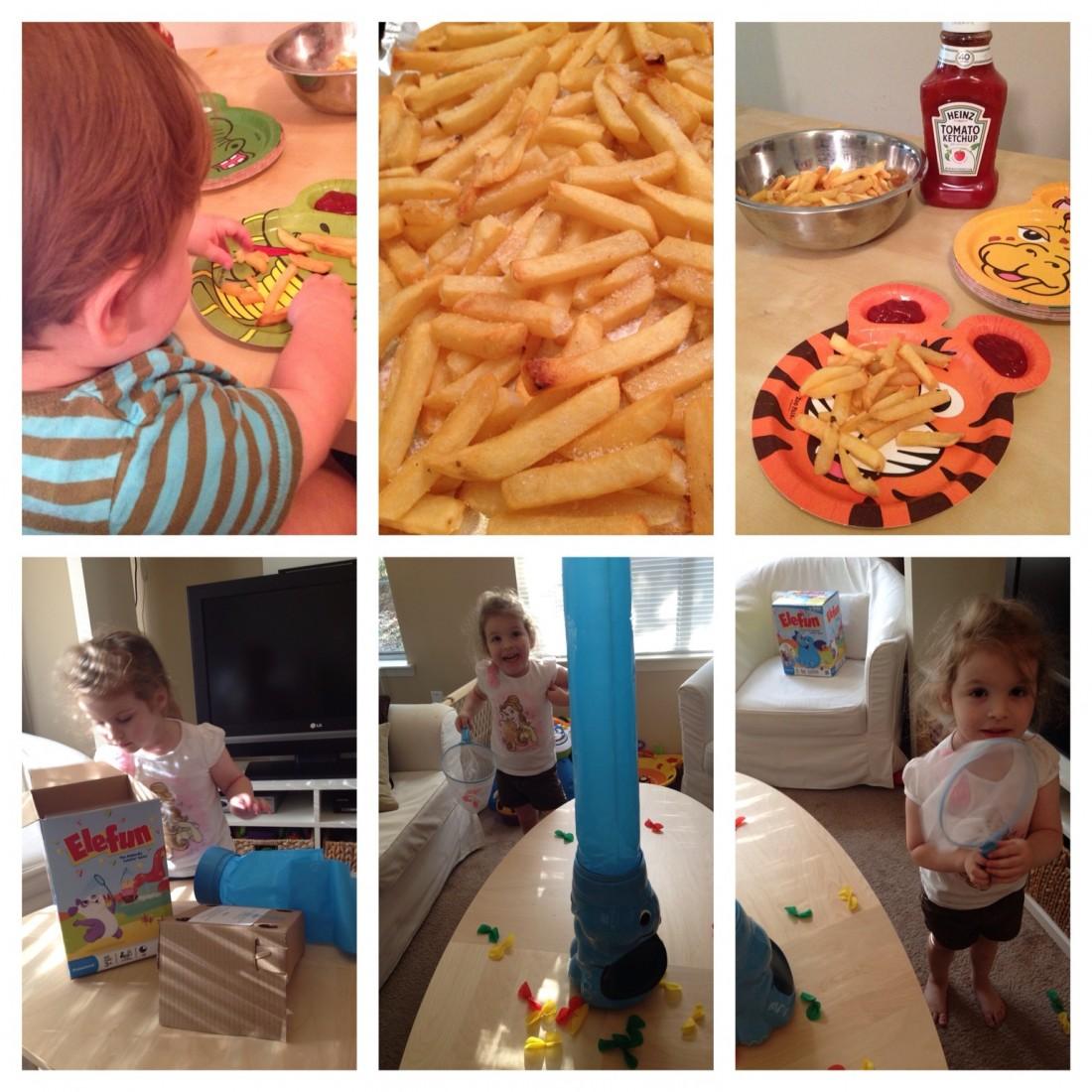 #DipDipHooray Fries & EleFun!