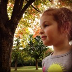 Isabel in the Park {Fall 2012}