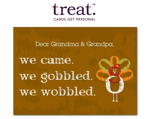 Treat Greeting Card
