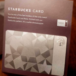 Starbucks Metal Card: Limited Edition
