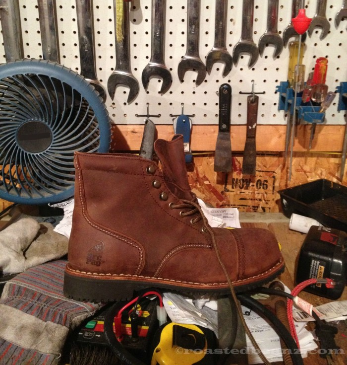 © Roasted Beanz: Shoes For Crews Empire Composite Toe Workboot