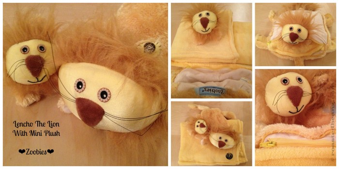 © Rasted Beanz: Zoobies Lencho The Lion Giveaway