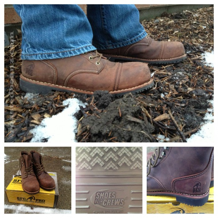 © Rasted Beanz: Empire Composite Toe Workboot Shoes For Crews