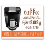 Roasted Beanz: Keurig Vue Giveaway