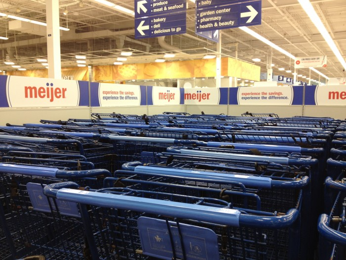 © roastedbeanz.com Meijer shopping carts