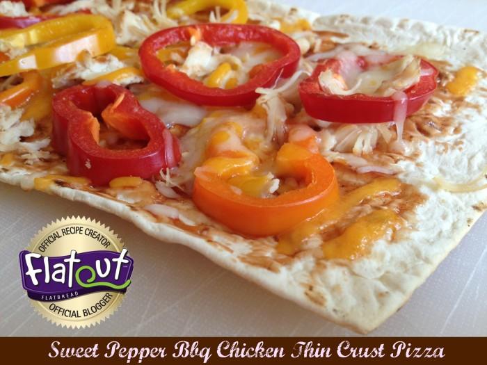 © roastedbeanz.com: Flatout Flatbread Thin Crust Artisan Pizza