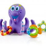 Nuby Floating Octopus Bath Toy