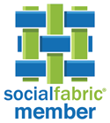 Roasted Beanz: Social Fabric Member Badge