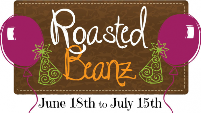 Roasted Beanz 2013 Blog Birthday Event