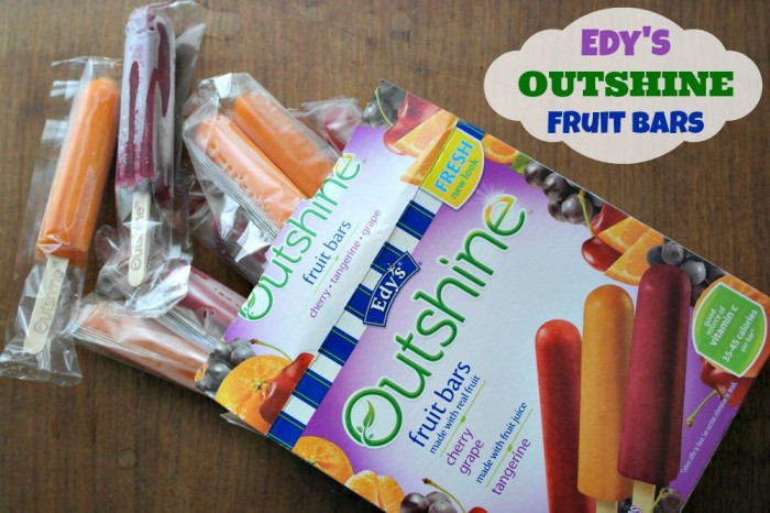 Roasted Beanz: Edy's Outshine #RealFruitBar #campaign #cbias #shop