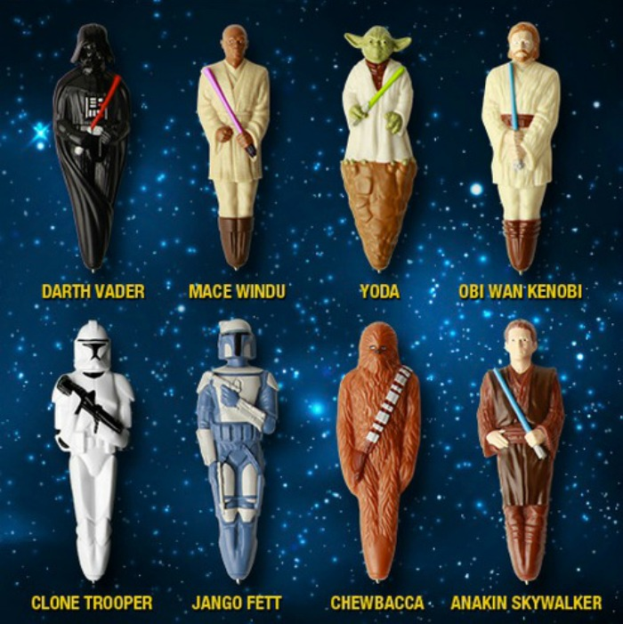 Roasted Beanz: Big G Cereals Cereal Wars Star Wars Pens #sp