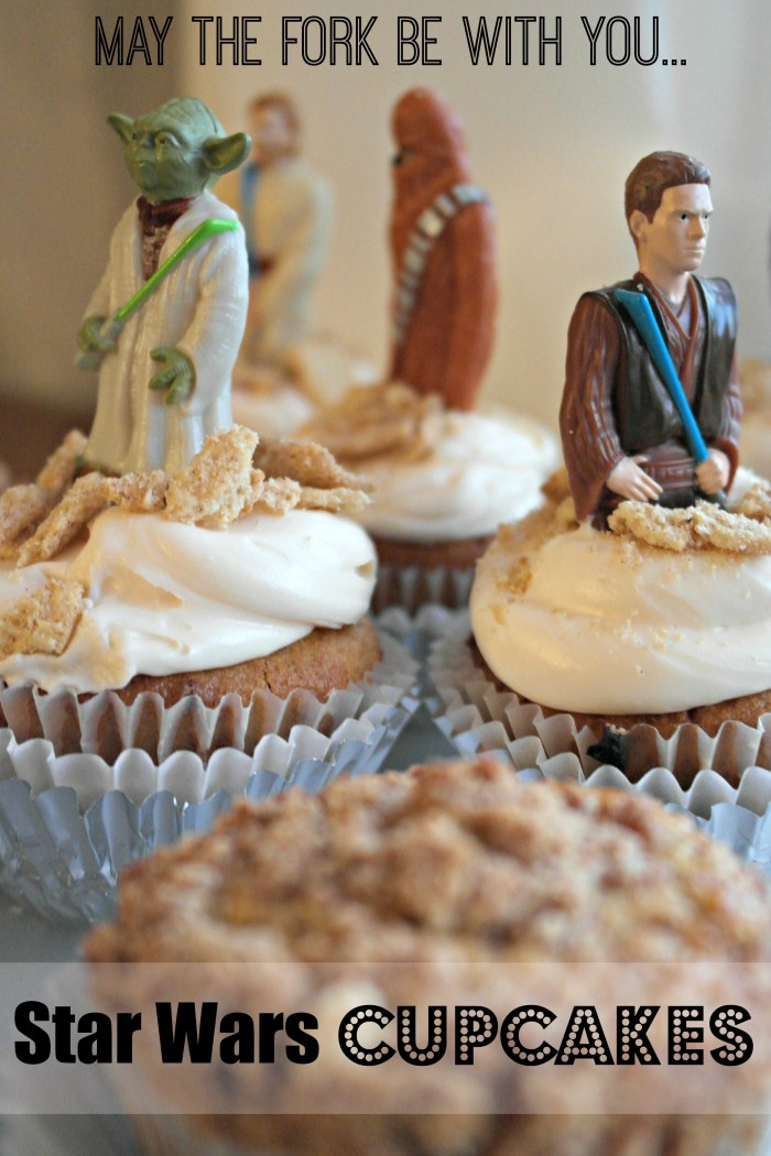 Roasted Beanz: Big G Cereal Wars Star Wars Cupcakes