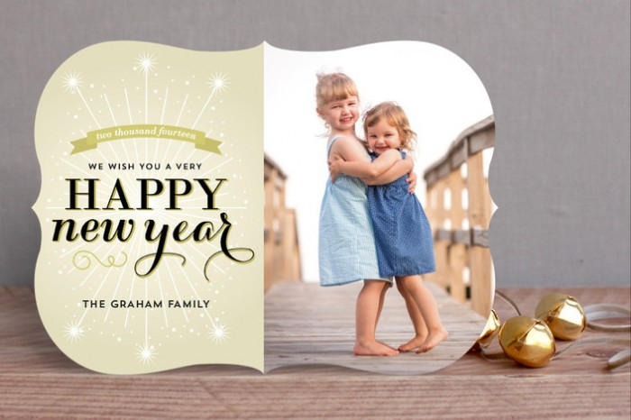 Roasted Beanz: New Year Holiday Cards By Minted