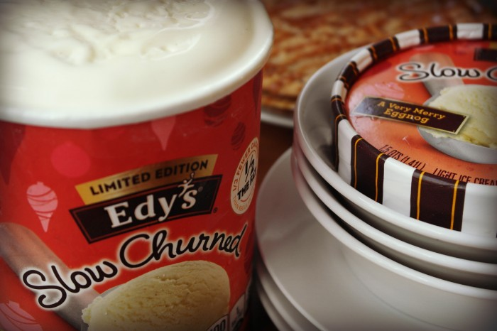 Roasted Beanz: Edy's Verry Merry Eggnog Ice Cream #HolidayReady #Shop #Cbias