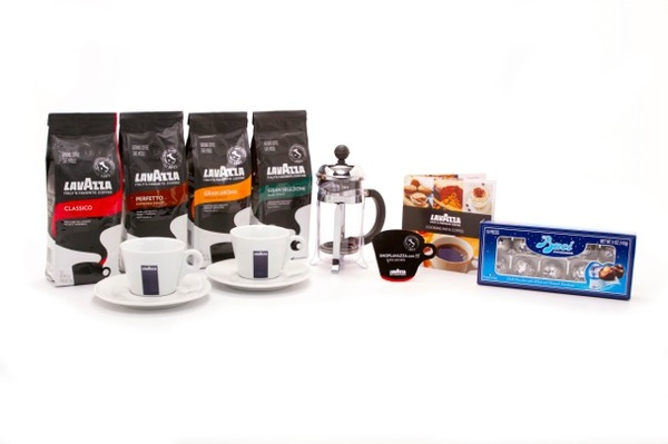 Roasted Beanz: Lavazza coffee - Deluxe Barista Gift Set
