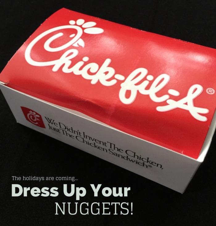 Dress Up Your Nuggets: Chick-Fil-A Mom's Club © Rachel Hull www.roastedbeanz.com
