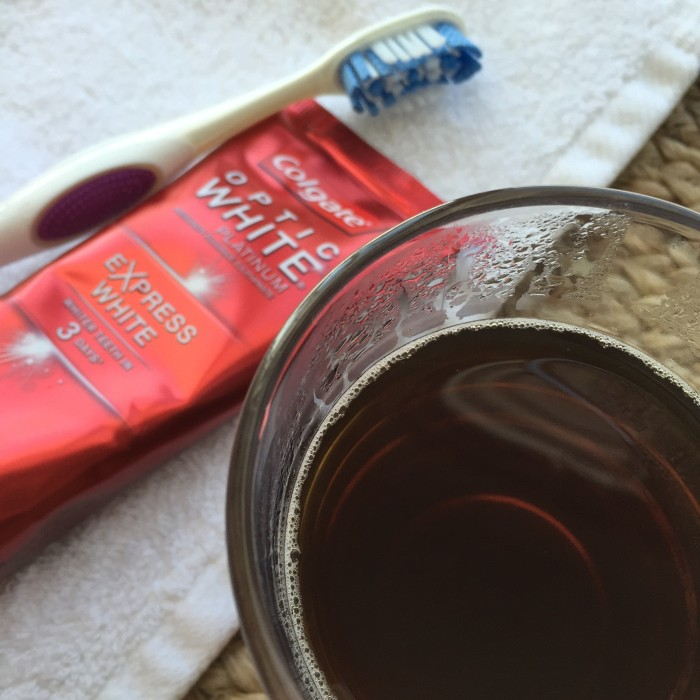 Coffee Pairing With Colgate Optic White Express White © www.roastedbeanz.com #OpticWhite #ad #collectivebias #shop