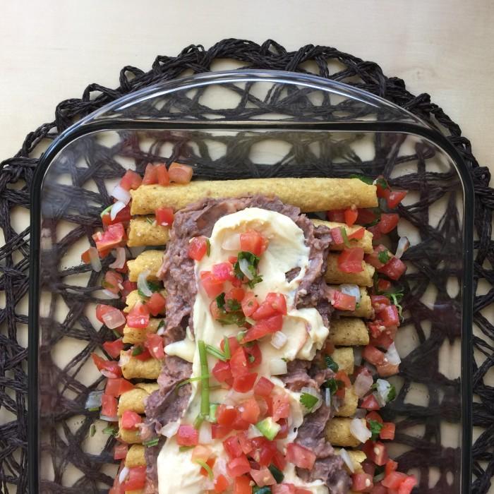 Cinco de Mayo Taquito Bake © www.roastedbeanz.com #DelimexFiesta #ad #collectivebias #shop