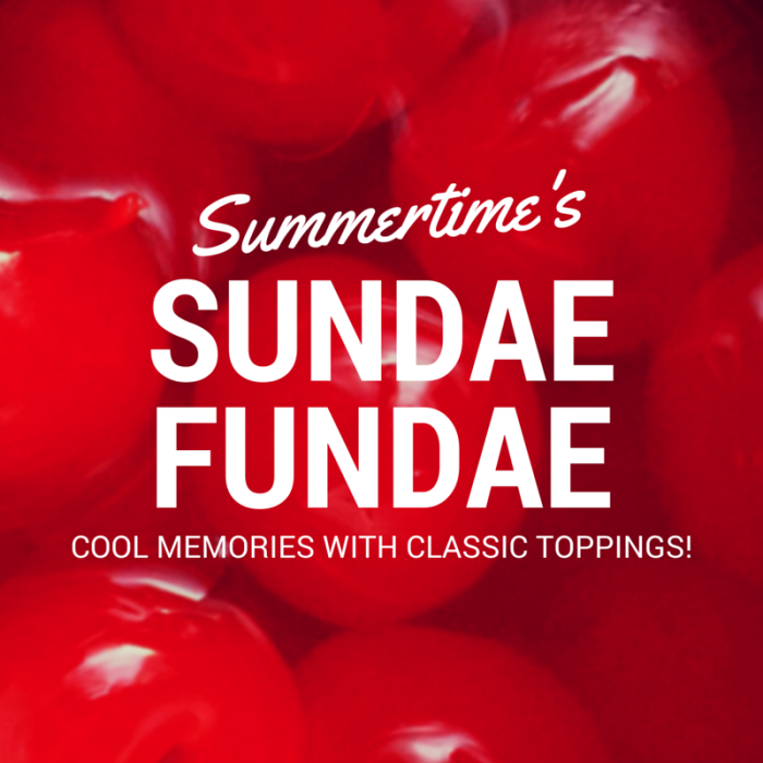 Summertime's Cool Memories With Classic Ice Cream Toppings © www.roastedbeanz.com #SundaeFundae #ad