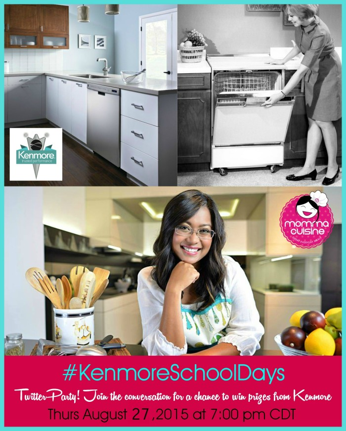 Back To School Twitter Chat With Kenmore! www.roastedbeanz.com #KenmoreSchoolDays#ad