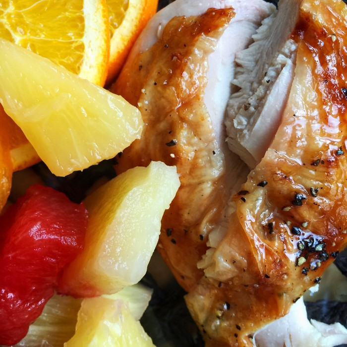 Juicy Grilled Cornish Hens And Orange Sauce © www.roastedbeanz.com #JuicyGrilledCornish #ad #collectivebias #shop