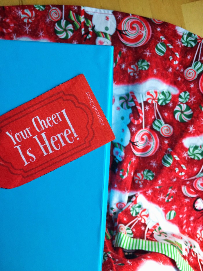 Are You Ready To Spread Cheer This Holiday Season? © www.roastedbeanz.com #SpreadCheer #ad